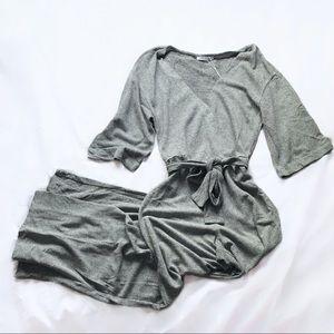zara ⋆ belted jumpsuit